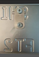 Kennzeichenhalter ALLOY-EDITION ( 2 Motorräder 1Kennzeichen)