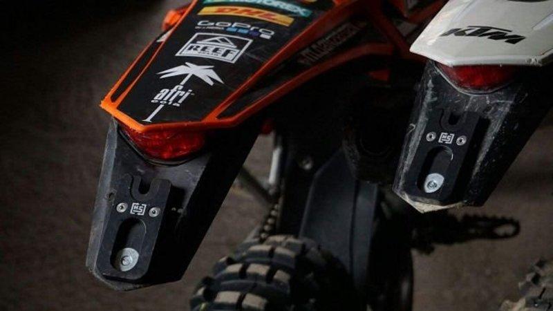 HotSwop Number Plate Holder (for 2 bikes)