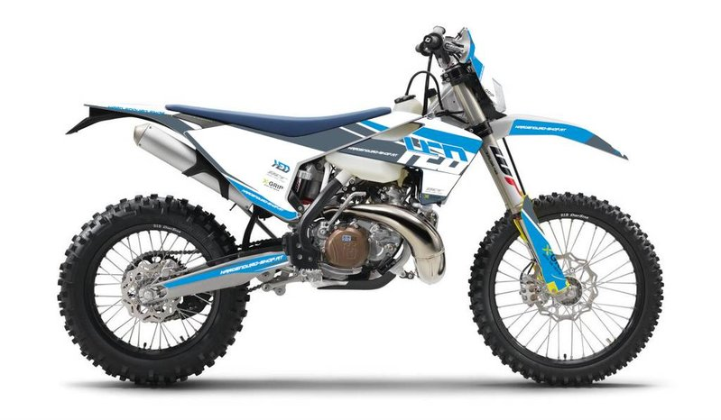 HED Hard Enduro Shop Graphic Kit Husqvarna