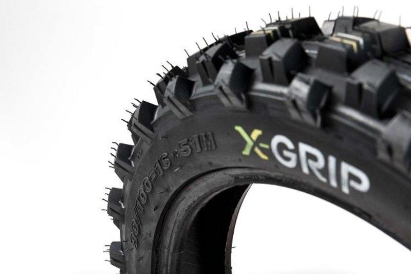 X-GRIP Tough Gear reartyre