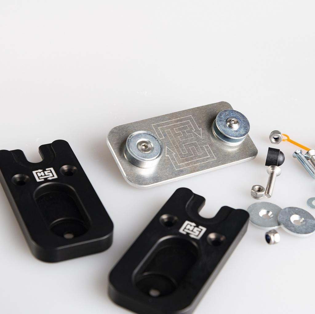 HotSwop Kennzeichenhalter ALLOY-EDITION ( 2 Motorräder 1Kennzeichen)