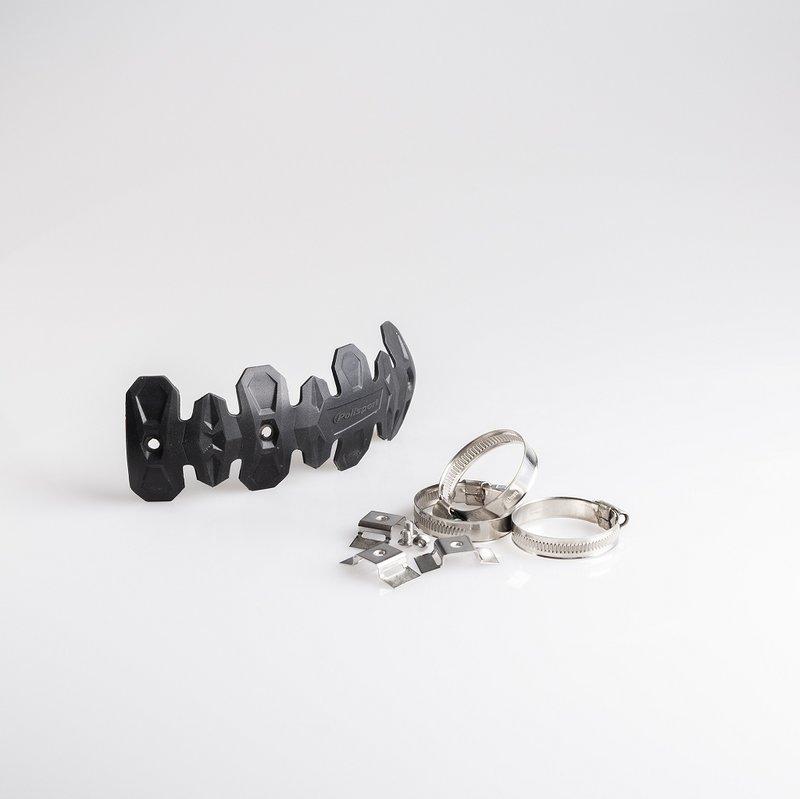 Polisport 4 Stroke Pipe Guard Black