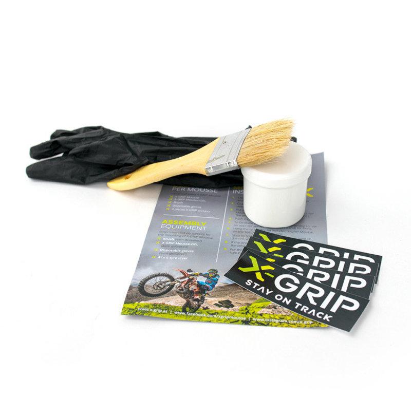 X-GRIP Mousse Gel Kit