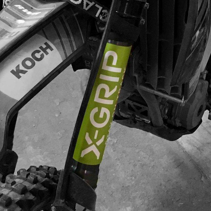 X-GRIP Gabelaufkleber