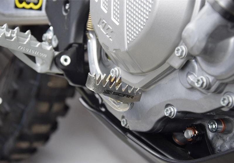 Scar Titan Auftritt Bremspedal 5cm