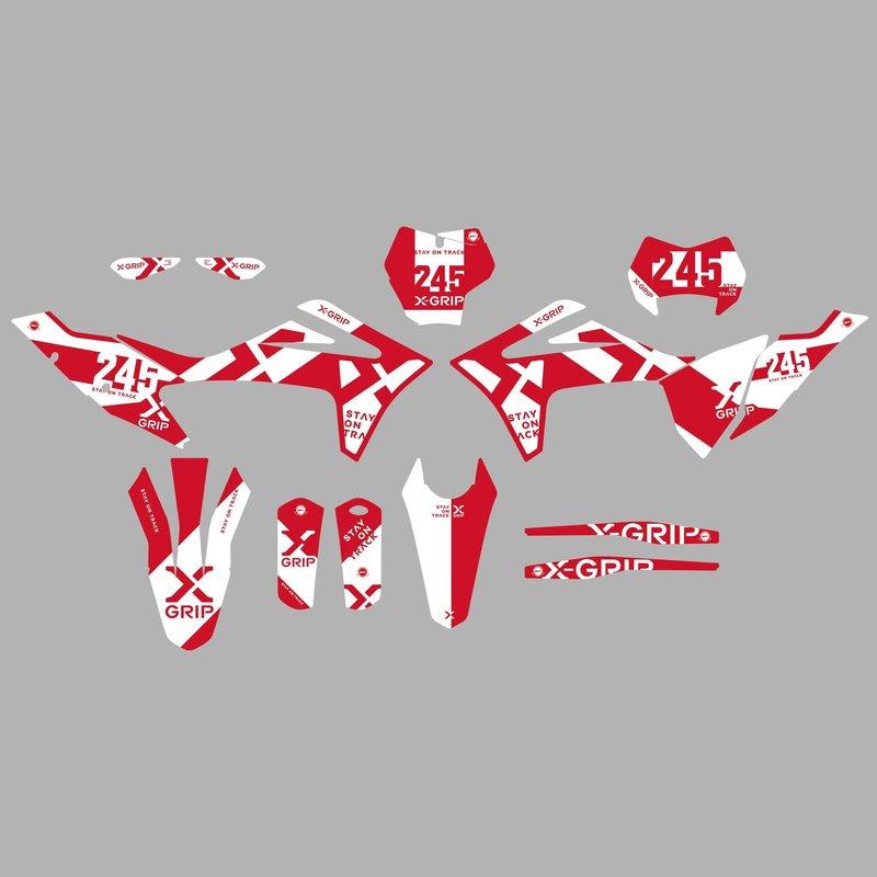 X-GRIP Dekor Kit  GasGas #20 matt