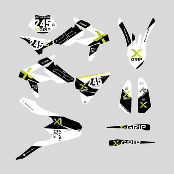 X-GRIP Graphic Kit Beta #20, 18-19