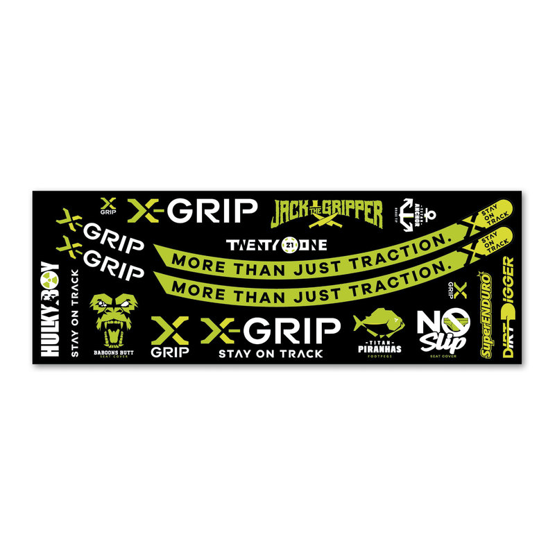 X-GRIP Sticker Kit