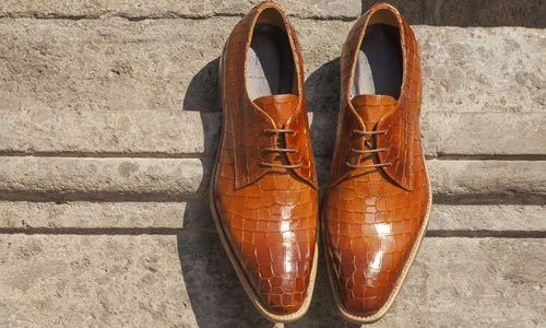 Schoenen maken de man !