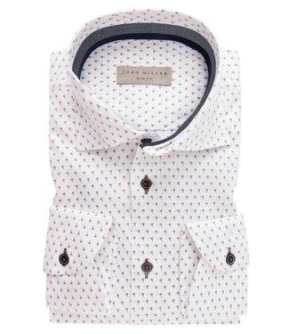 John Miller John Miller Overhemd Slim Fit  5136855-550