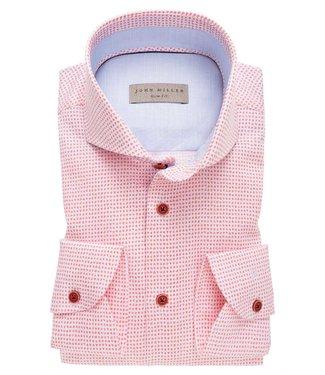 John Miller John Miller Overhemd Slim Fit  5136892-440