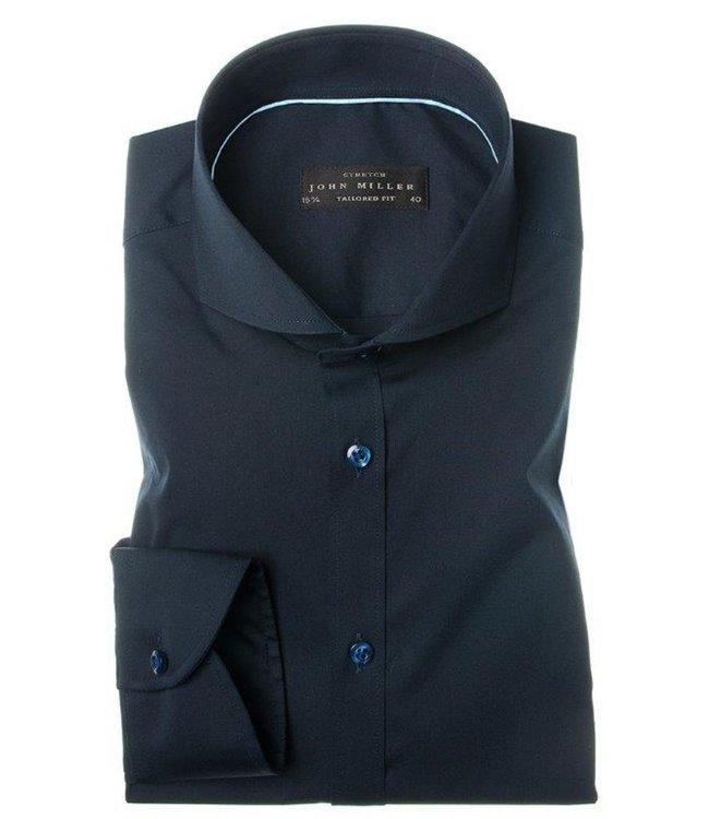 John Miller overhemd stretch tailored fit 5034551-190
