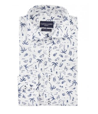 Cavallaro Cavallaro  palma Overhemd 1091021-10003