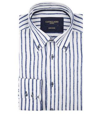 Cavallaro Cavallaro Lino Overhemd 1091036-10632