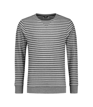 Dstrezzed Dstrezzed sweater melange stripe 211242-669