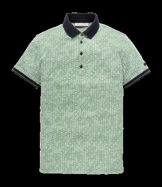 Cast Iron CAst iron Poloshirt met print CPSS193264-6186