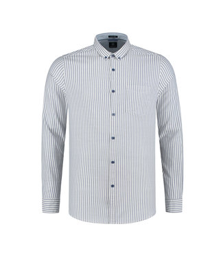 Dstrezzed Dstrezzed Overhemd Stripe Oxford 303260-648