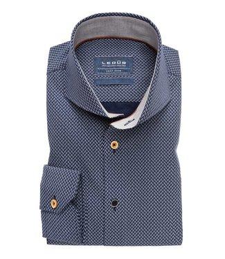 Ledûb Ledub Overhemd Tailored Fit 0138221-180