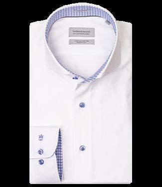 Thomas Maine Thomas Maine Overhemd met Contrast 927725-61