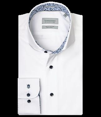 Thomas Maine Thomas Maine Overhemd met Contrast 927725-65