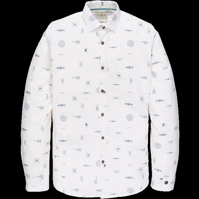 overhemd stretch printed CSI202618-7003