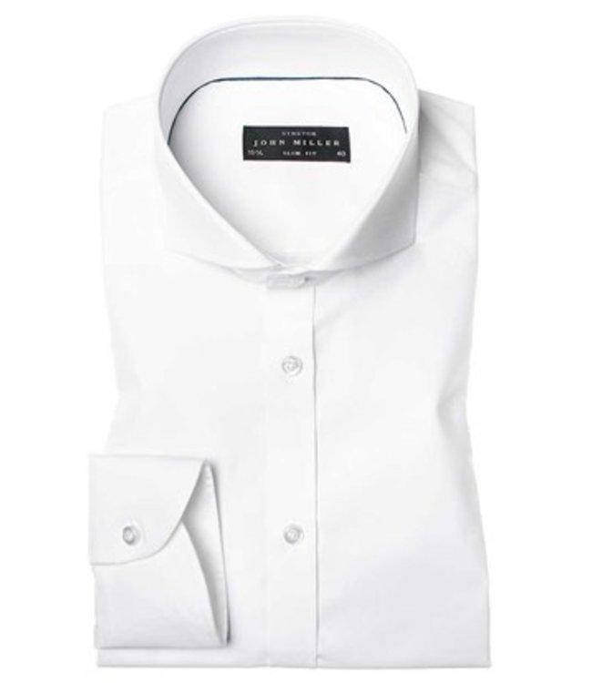 John Miller overhemd stretch slim fit  5044551-910