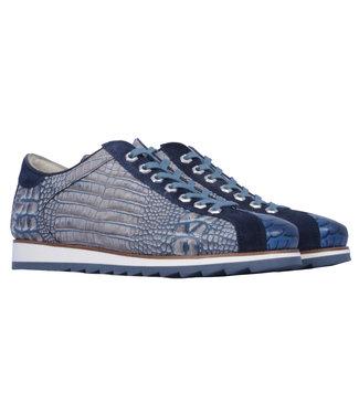 Giorgio lage sneaker krokodillenprint HE64926-F37