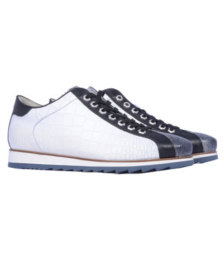Giorgio lage sneaker krokodillenprint HE64926-F27