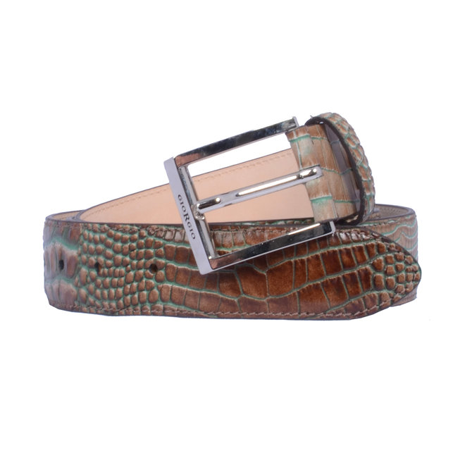 Veterschoen krokodillenprint 964145-40