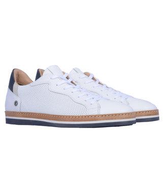 Giorgio lage leren sneaker wit HE49424