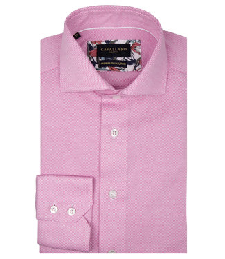 Cavallaro overhemd Alessio roze 1001026-45103