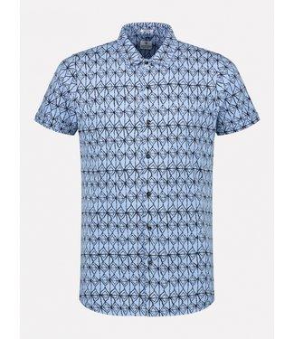Dstrezzed jersey overhemd grafische print 311202-625
