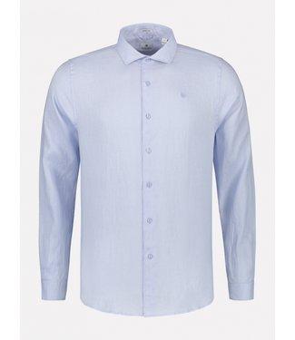Dstrezzed linnen overhemd lichtblauw 303300-646