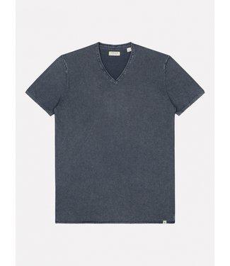 Dstrezzed t-shirt v-hals donkerblauw 405256-669