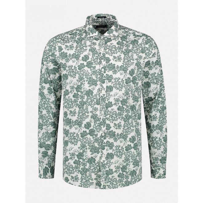 overhemd stretch poplin 303330-525