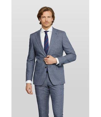 Van Gils tailored fit kostuum in blauw