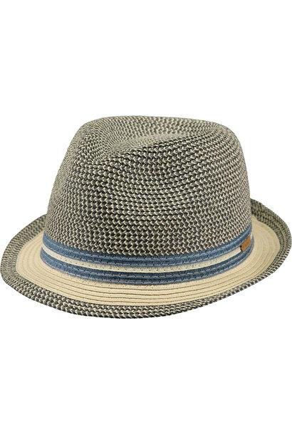 hippe hoed Fluoriet in blauw