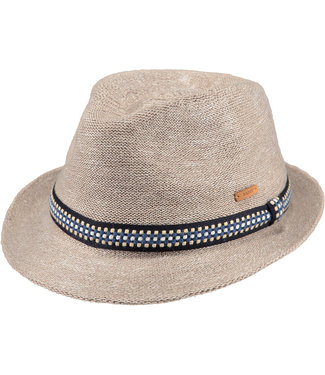 Barts trilby hoed Hadrian in beige
