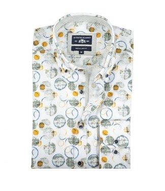 State of Art poplin katoenen overhemd 10205-1137