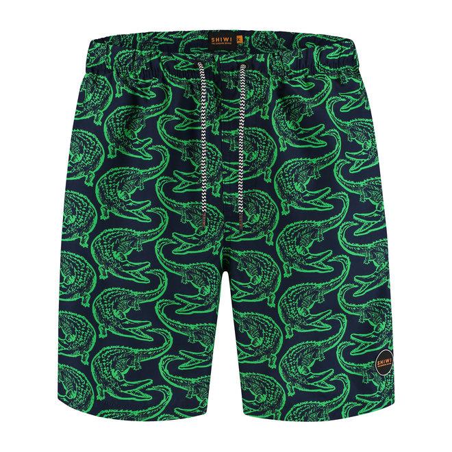 men swimshort alligator