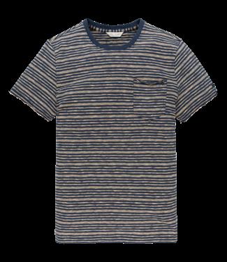 Cast Iron t-shirt gestreept CTSS203276-7138