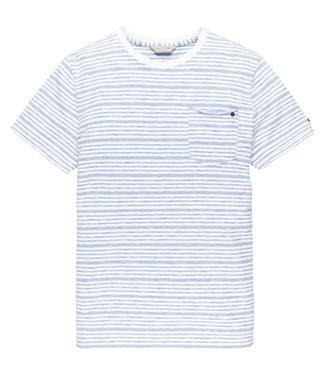 Cast Iron t-shirt gestreept CTSS203276-5068