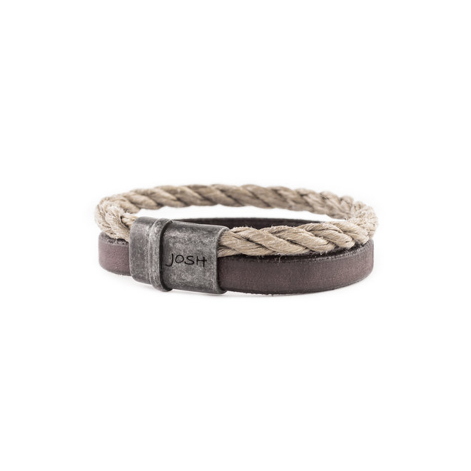 Armband 09234 beige/bruin