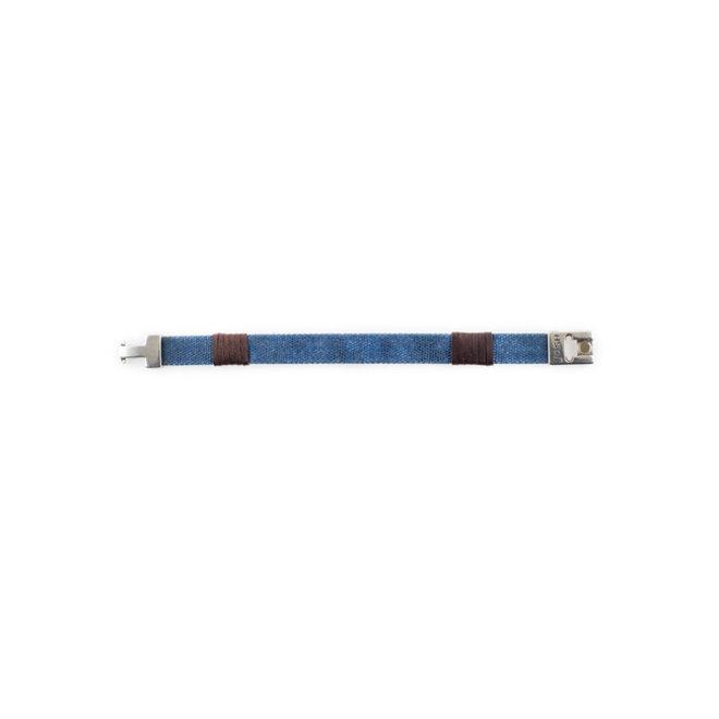Armband 24805 blauw