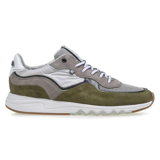 Sneaker Nineti suède groen 16392/00