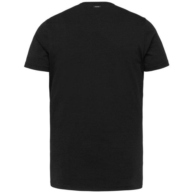 Zwart effen T-Shirt VTSS213269-999