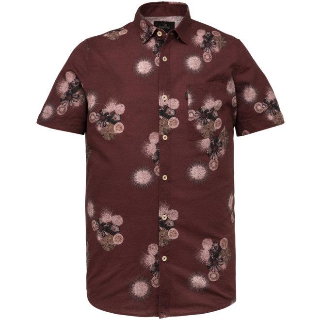 Bordeaux print Overhemd VSIS213240-4019