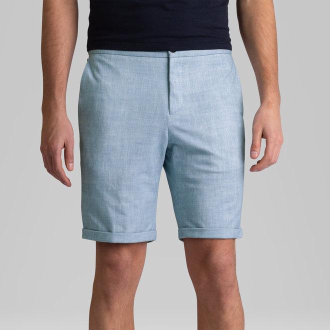 Lichtblauw Chino short VSH214663-5030