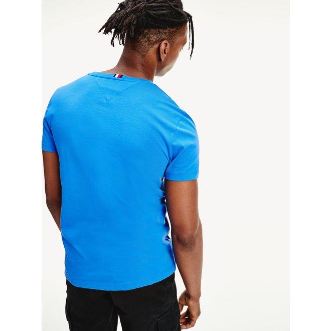 Kobalt blauwe T-Shirt 14313