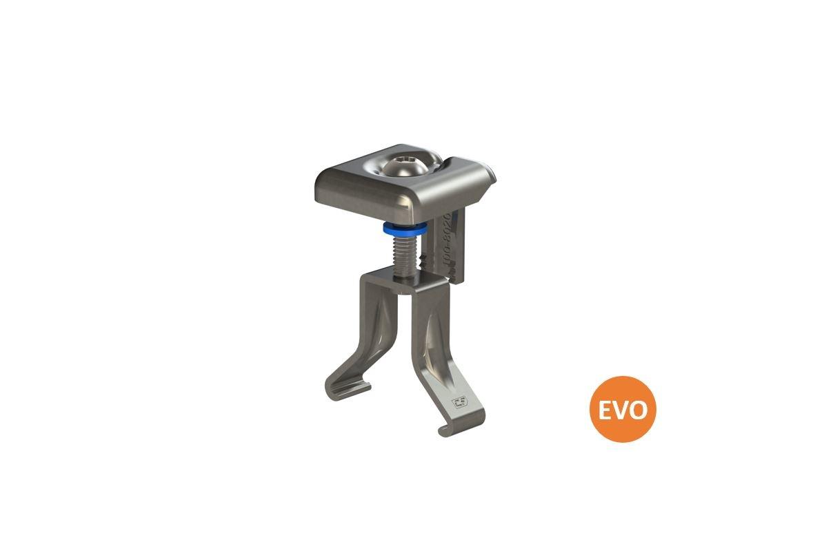 EVO Universele Moduleklem Aluminium